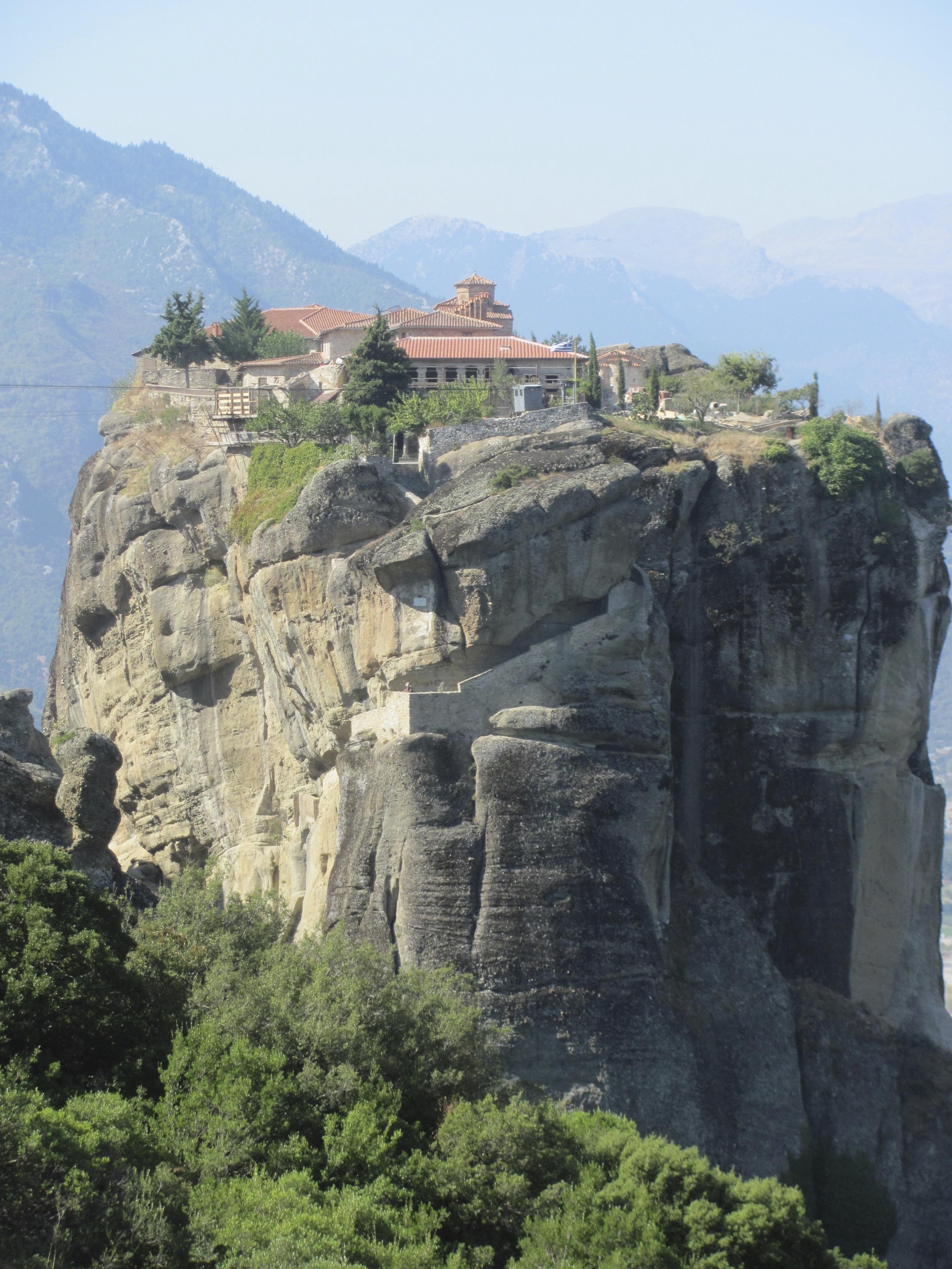 Meteora Monastery  simpleimages2